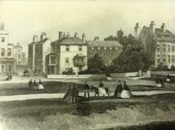 Norfolk Place, Surrey cottage and Surrey House Circ 1870